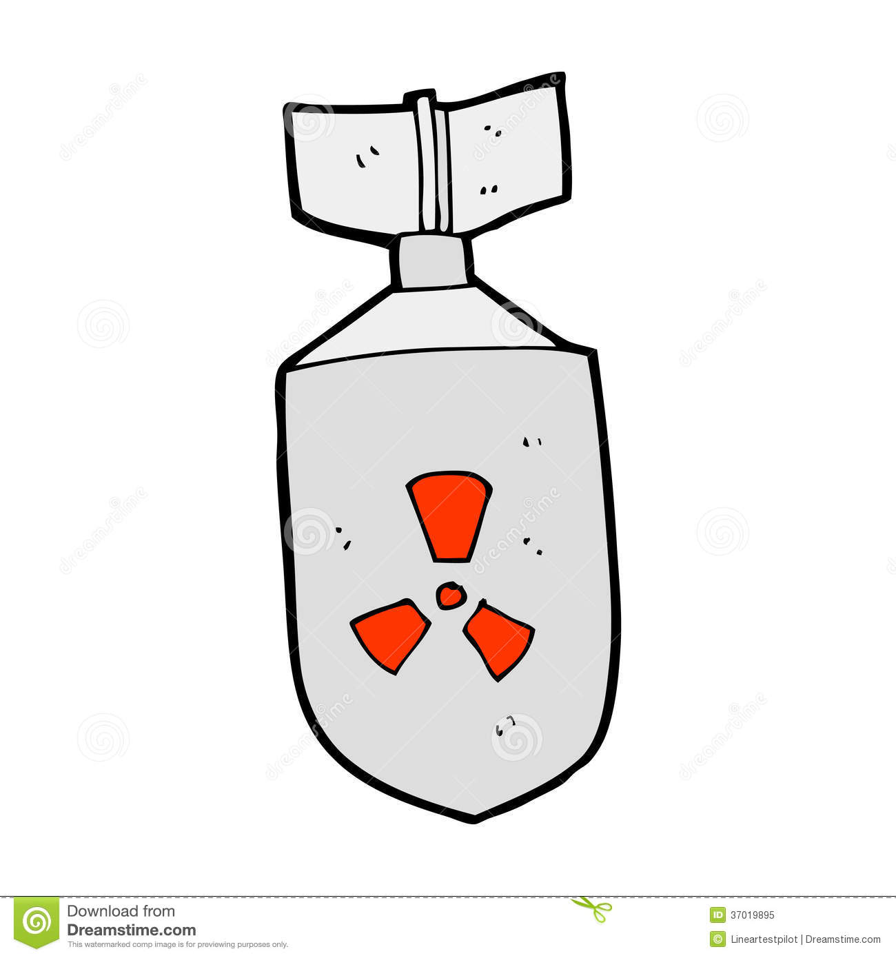 Cartoon Nuclear Stock Vector Illustration Of Nuclear