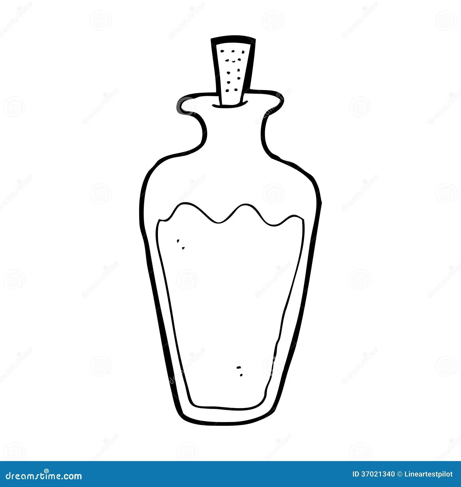 Cartoon Potion Stock Illustration Illustration Of
