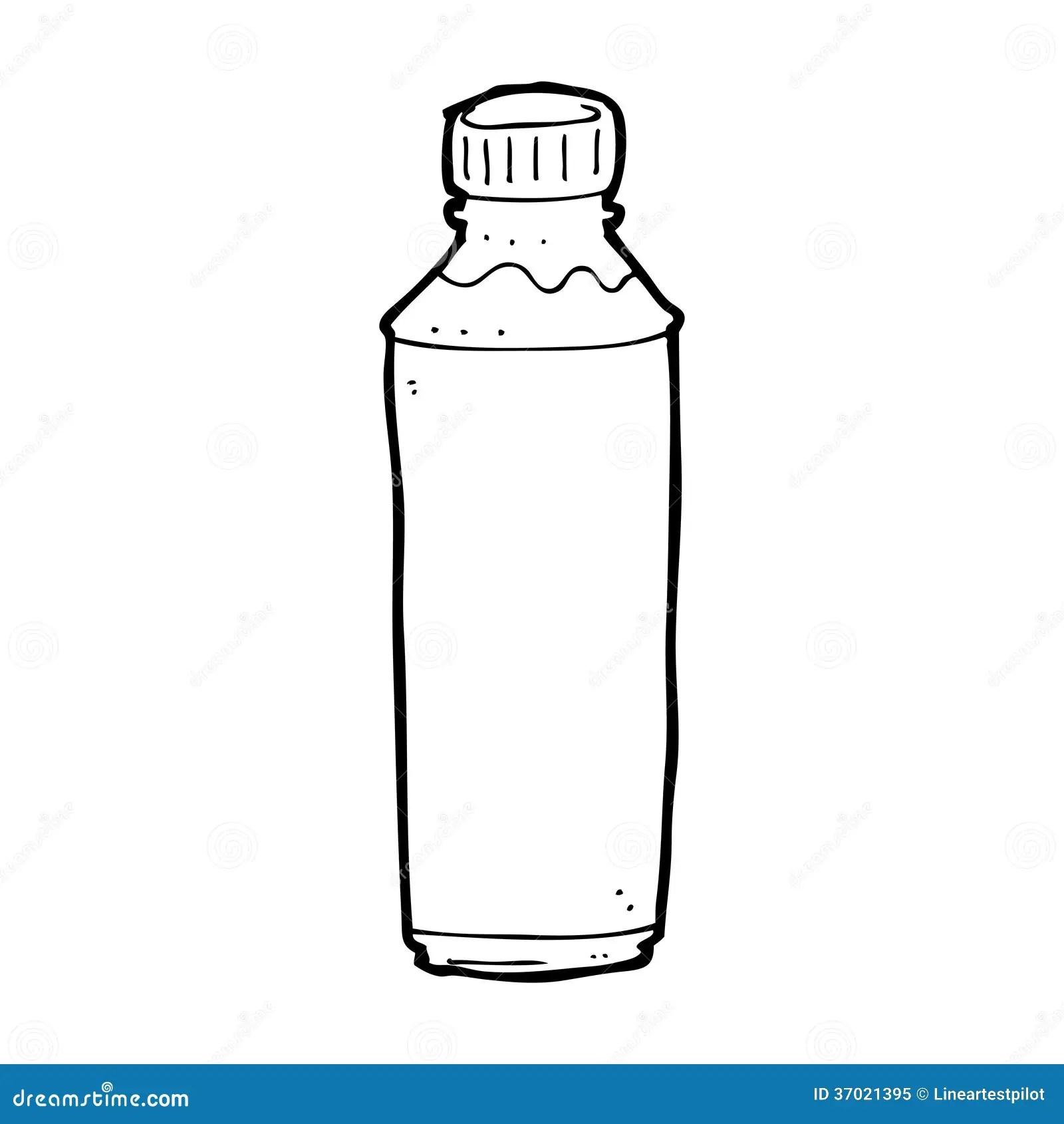 Cartoon Water Bottle Stock Illustration Illustration Of