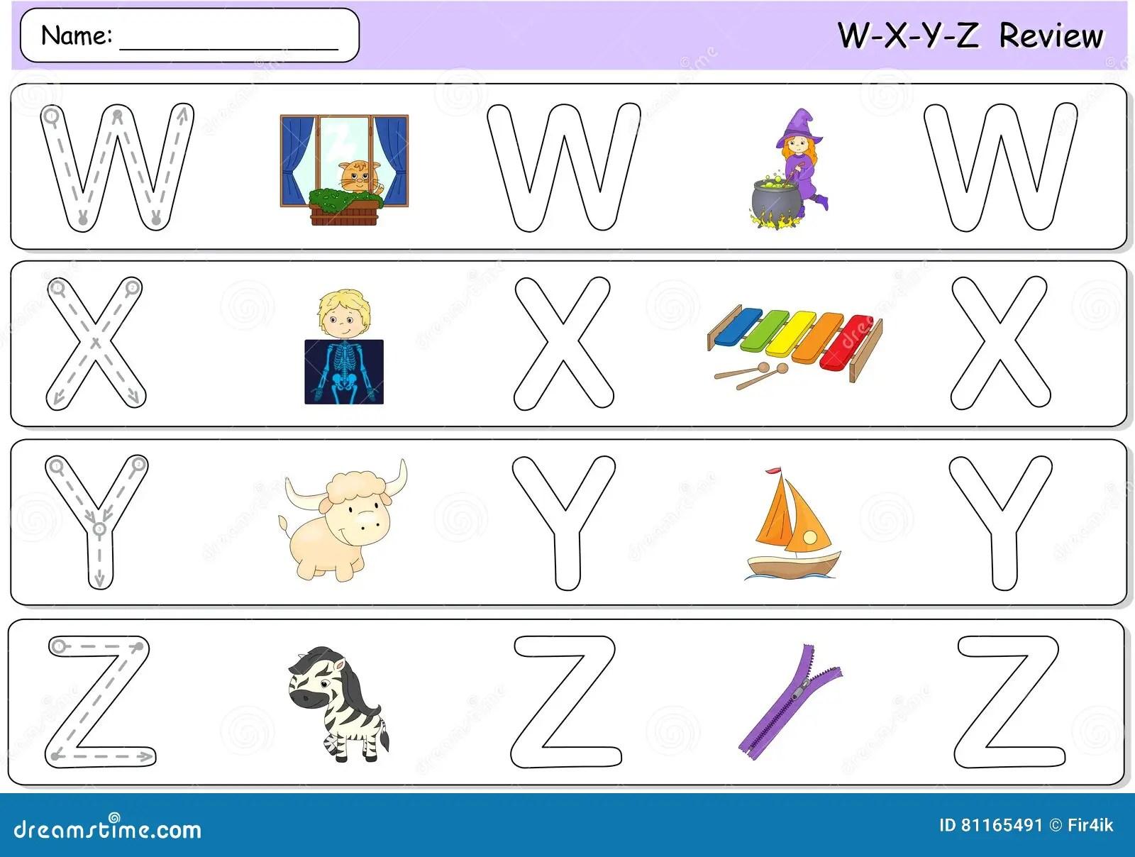 Cartoon Witch Window X Ray Boy Xylophone Yak Yacht