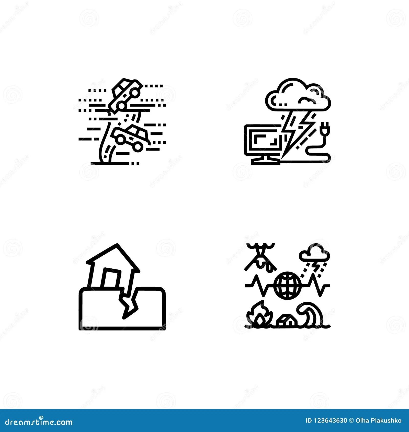 Earthquake Ii Cartoon Vector