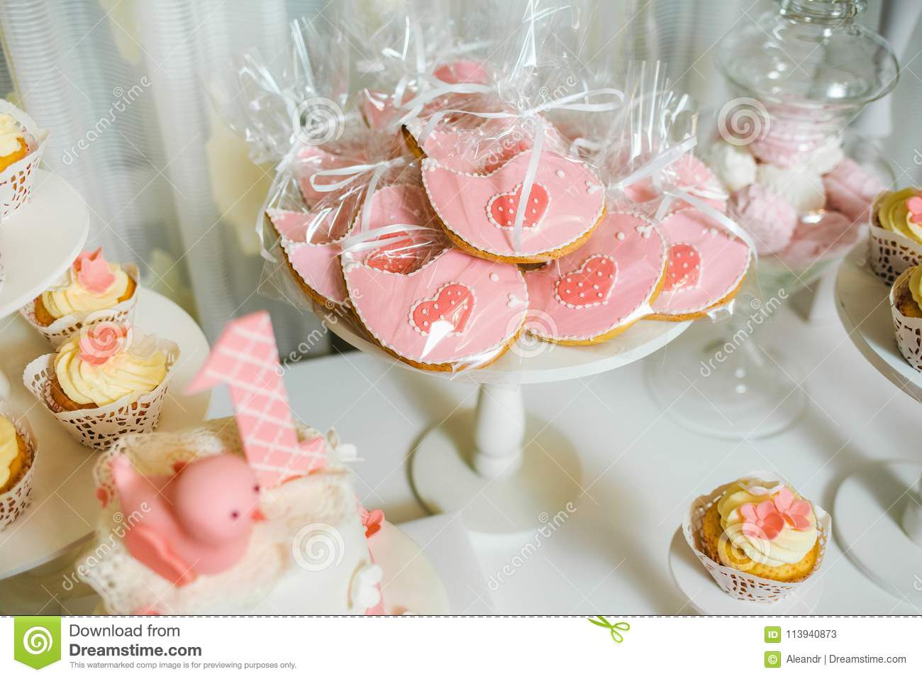 Catering For Birthday Party Stock Image Image Of Arrangement Dessert 113940873