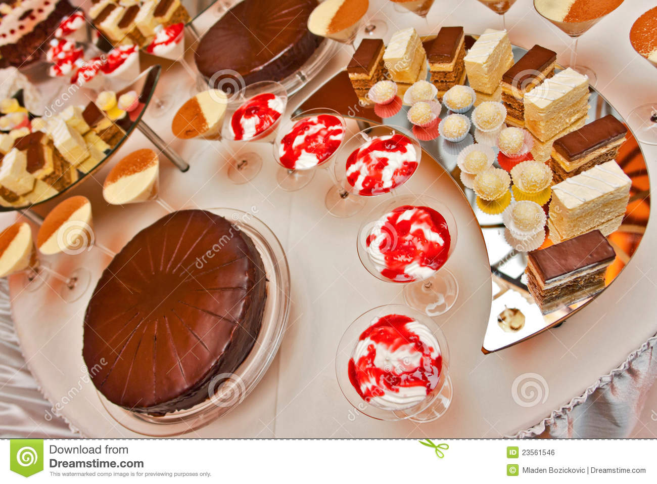 Catering Desserts Stock Photo Image Of Tablecloth Rich