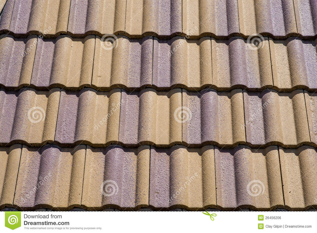 ceramic roof tiles stock photo image of textured roofing 26456206