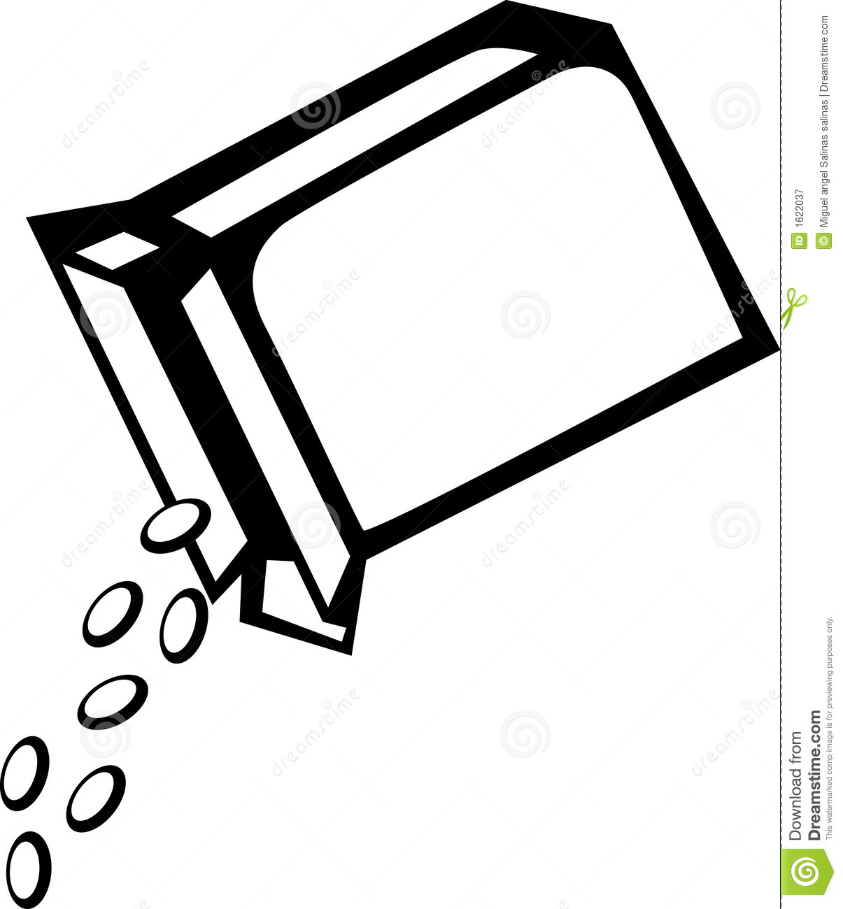 Cereal Box Vector Illustration Royalty Free Stock