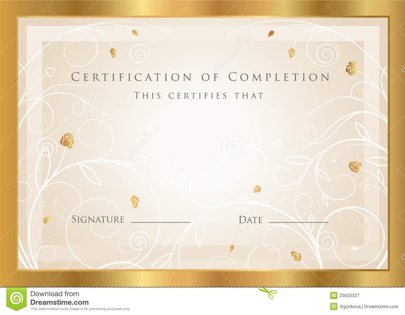 Free Awards Template of achievement award certificate template – Free Award Template