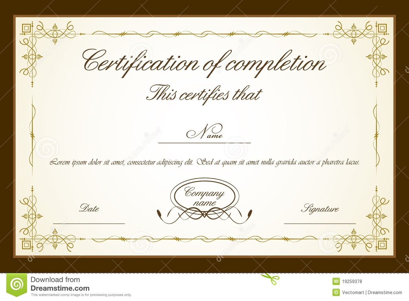 Award Certificate Templates Word word certificate template 31 – Examples of Award Certificates