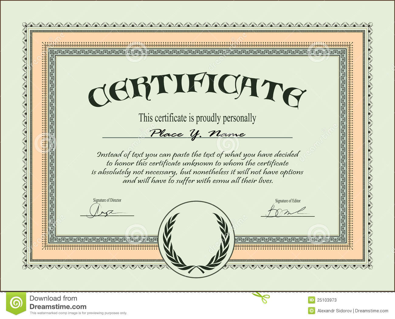 Free Certificate Templates business templates employee award – Employee of the Month Certificate Template Free