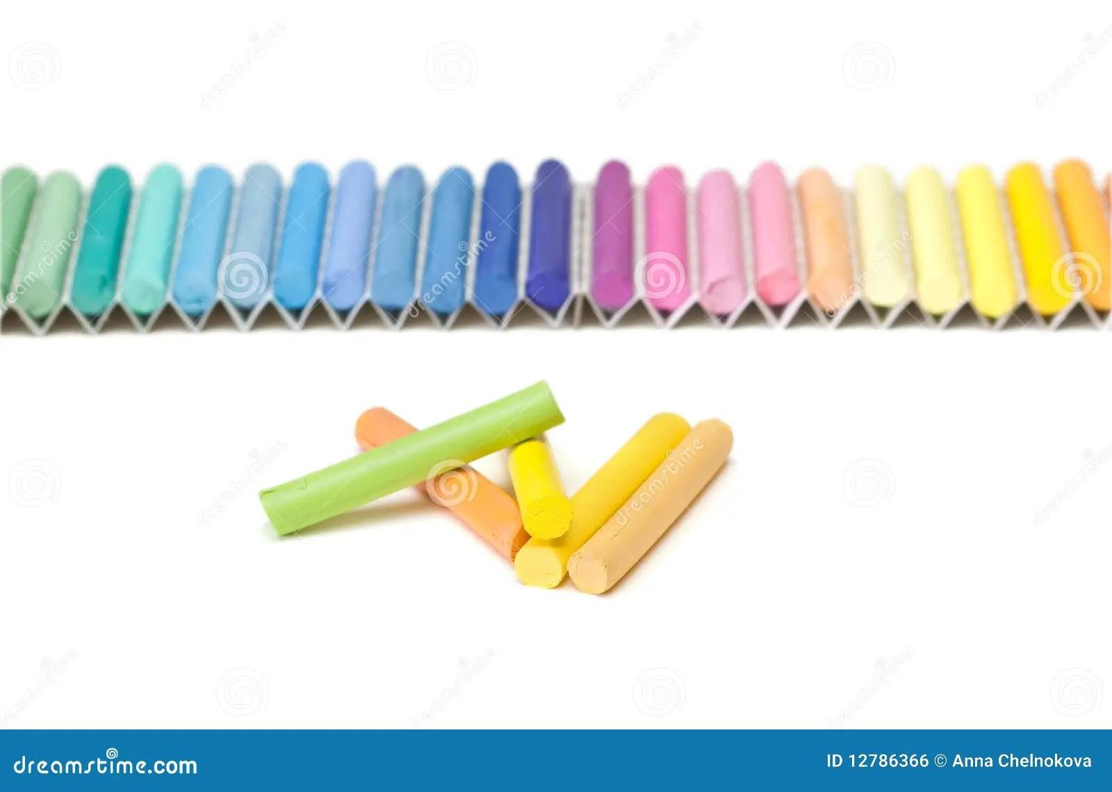 Chalk Sticks Royalty Free Stock Image Image 12786366