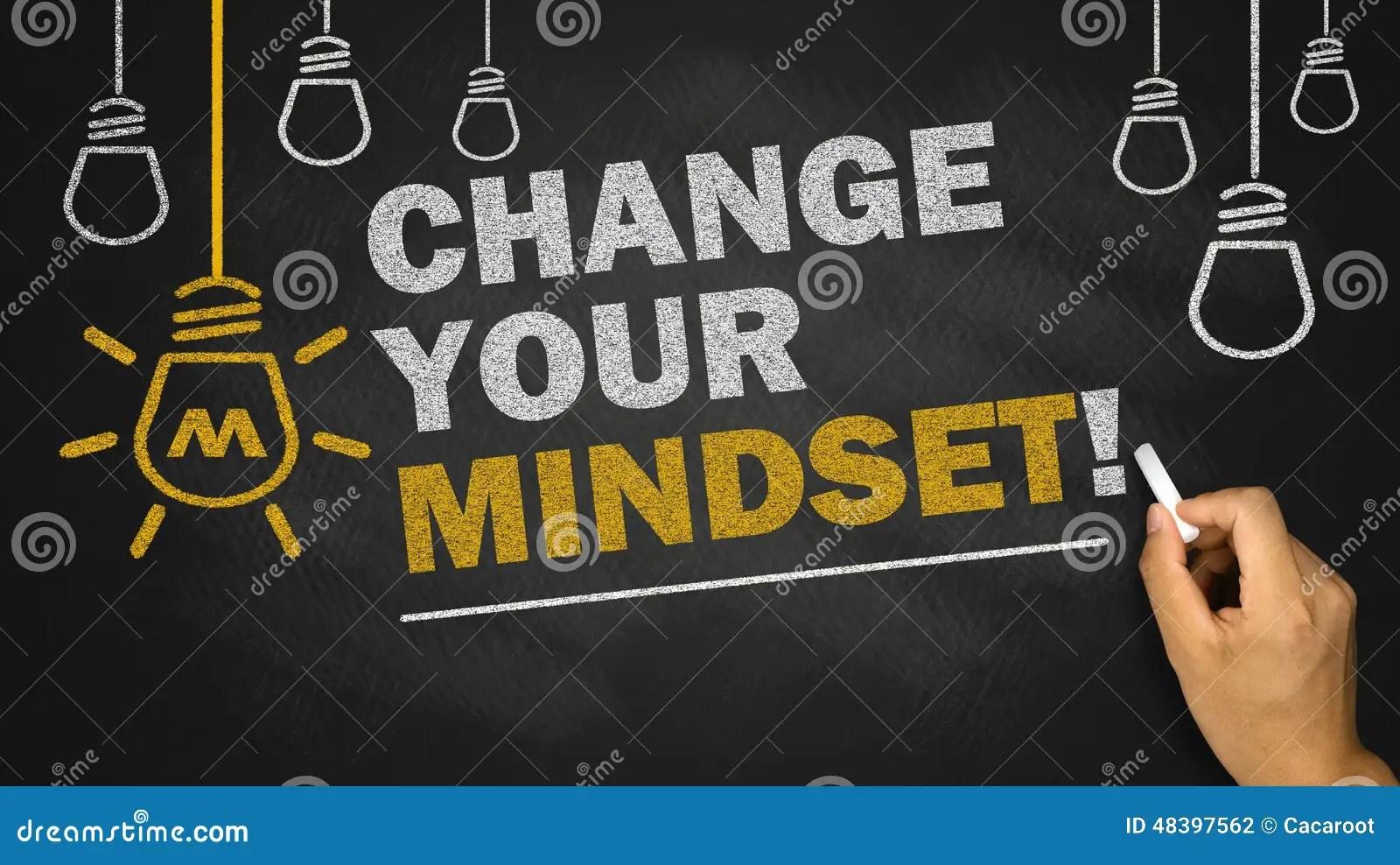 Change Your Mindset Stock Photo Image Of Change Reminder