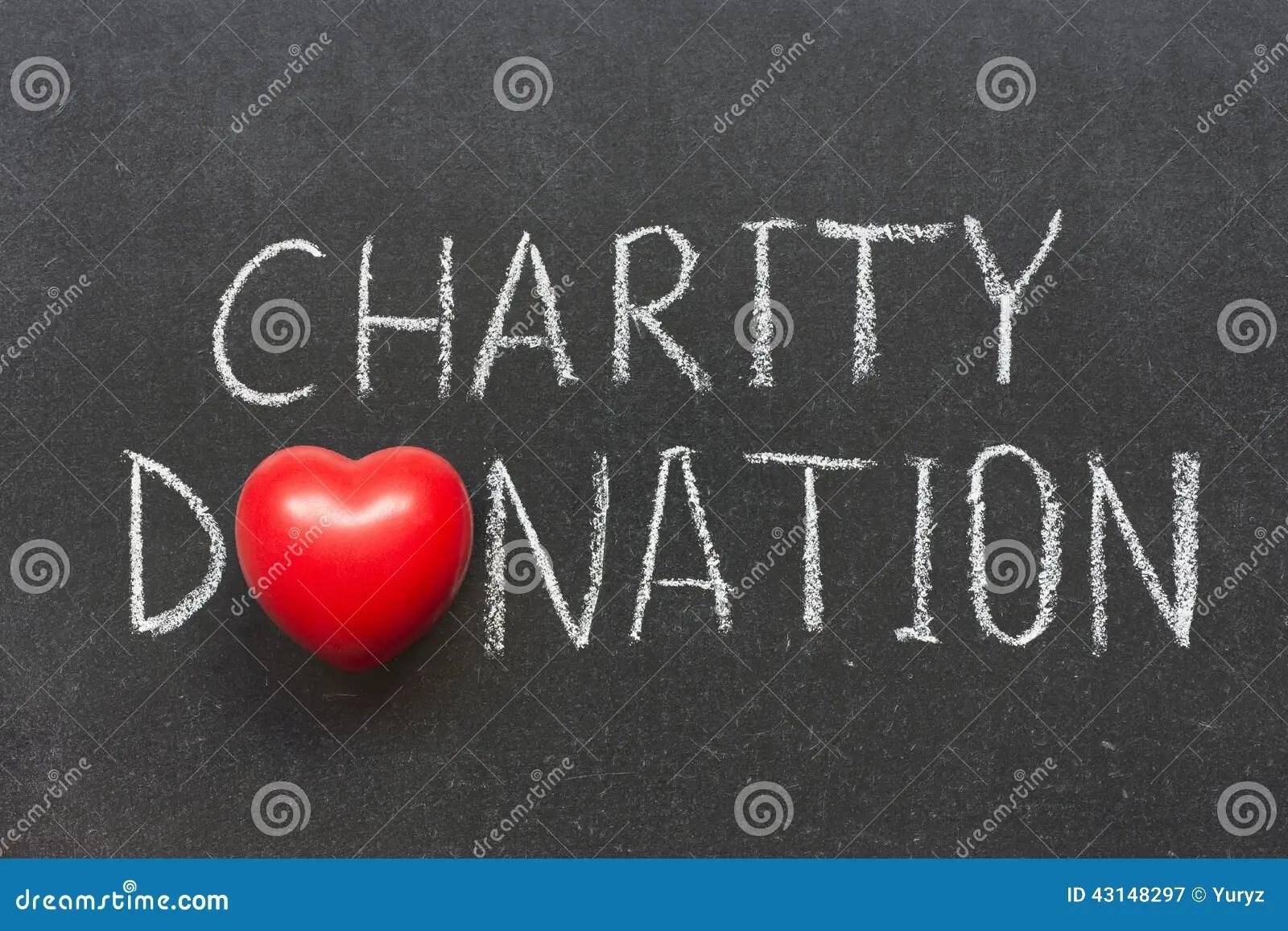Charity Donation Stock Photo Image 43148297