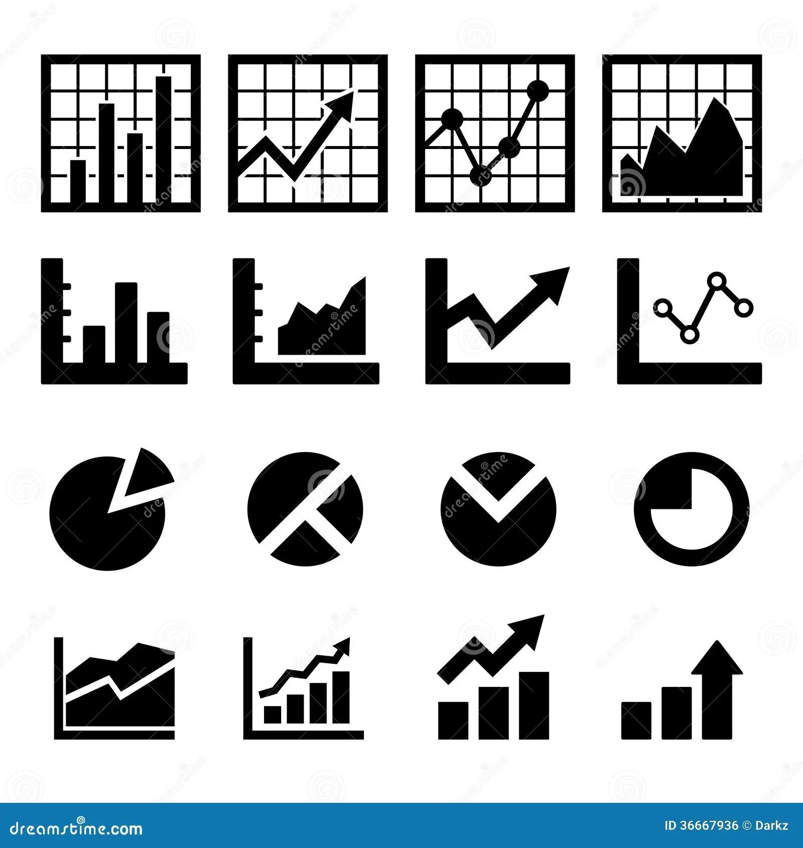 Chart And Diagram Icon Stock Illustration Illustration Of