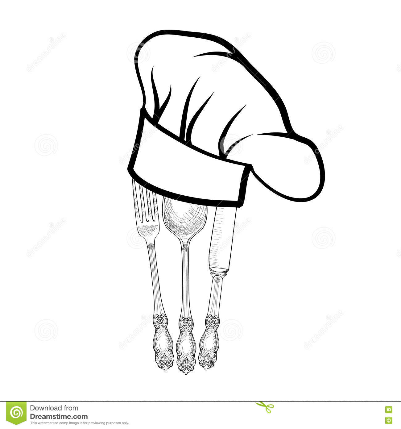 Knife Fork And Spoon Catering