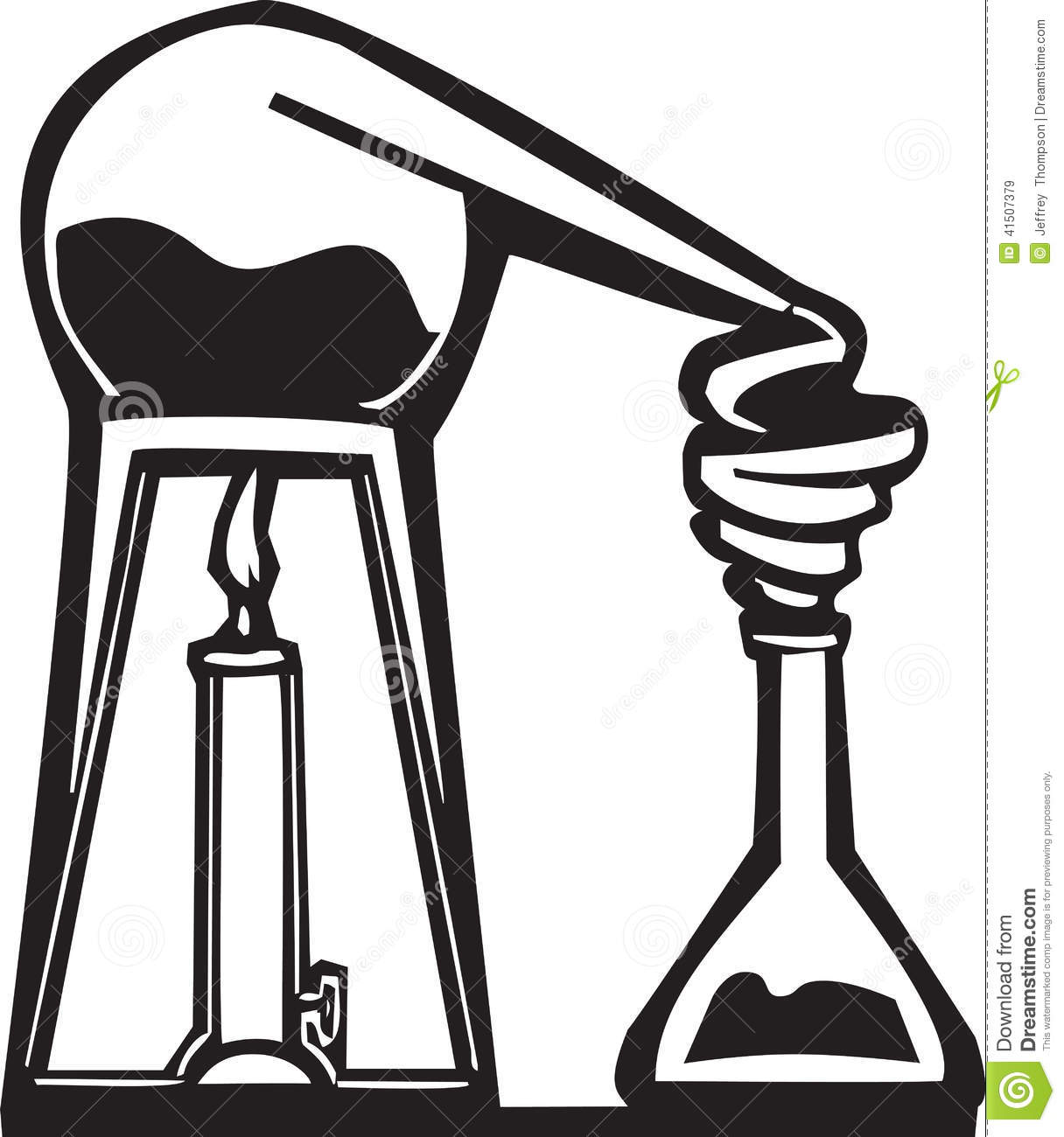Chemistry Alembic Stock Vector Illustration Of Education