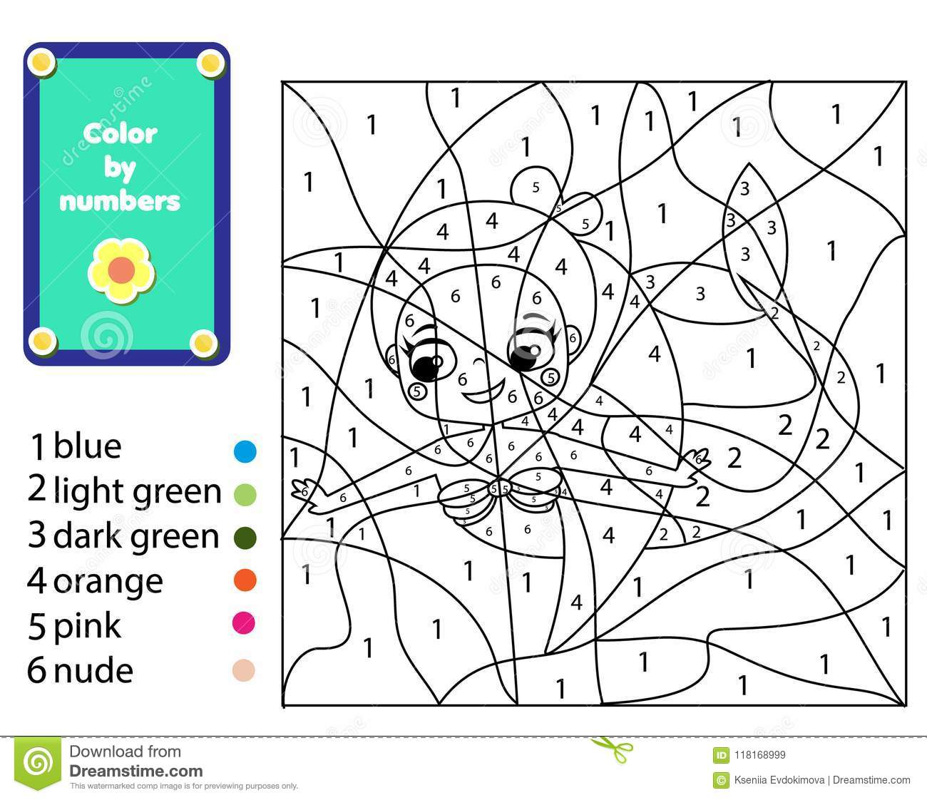 Coloring Activity For Kids