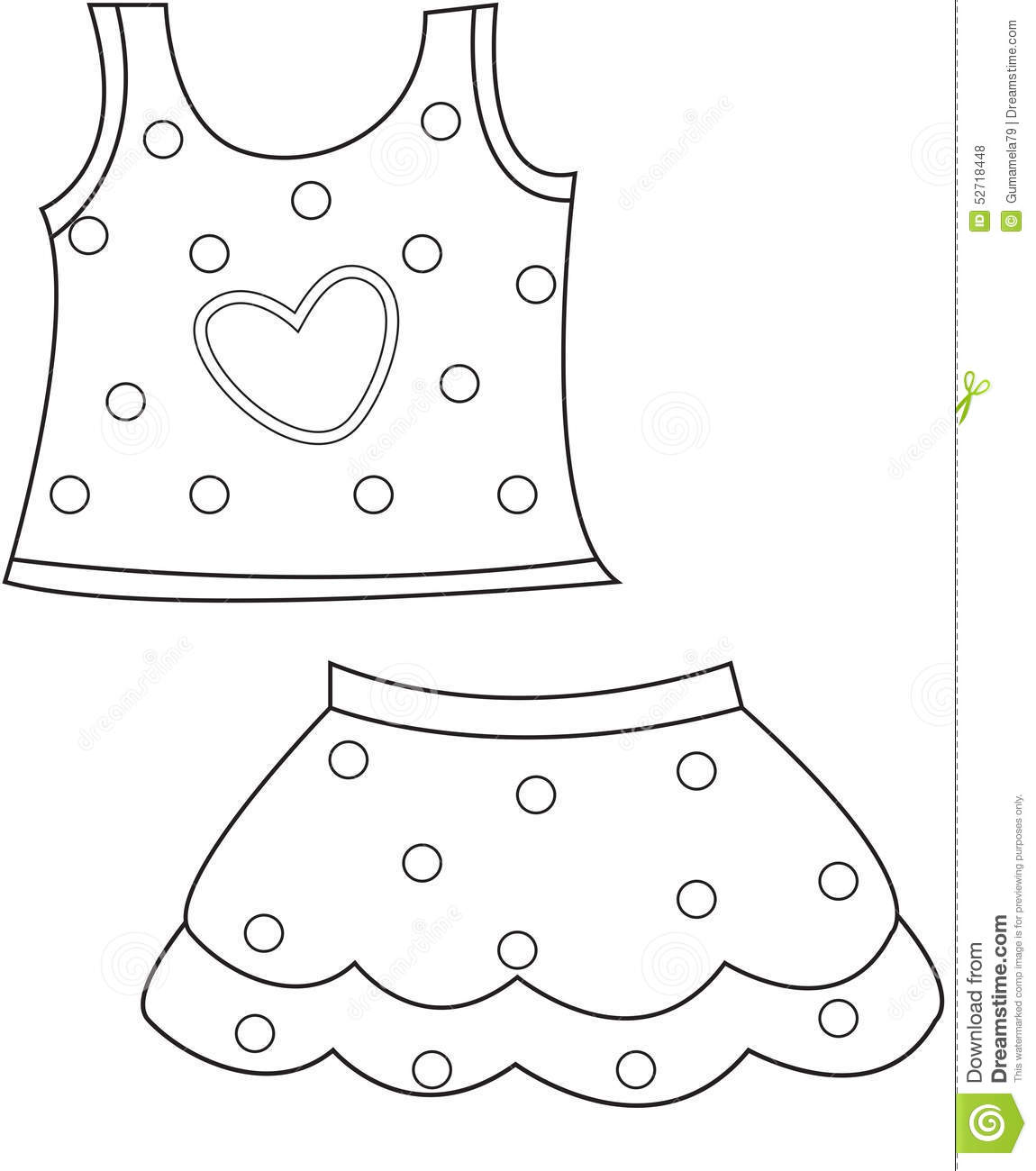 clothes coloring pages coloring pages clothes free printable