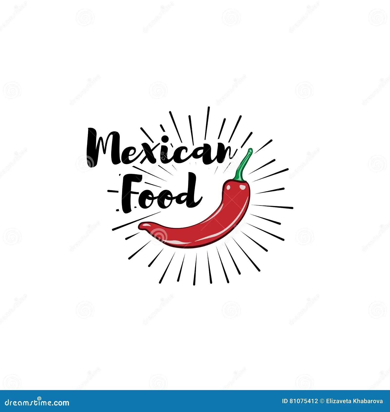 Chili Pepper Vector Logo Design Template Fresh Cartoon