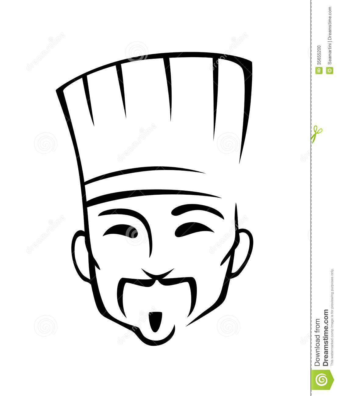 Chinese Chef Stock Vector Illustration Of Chinese