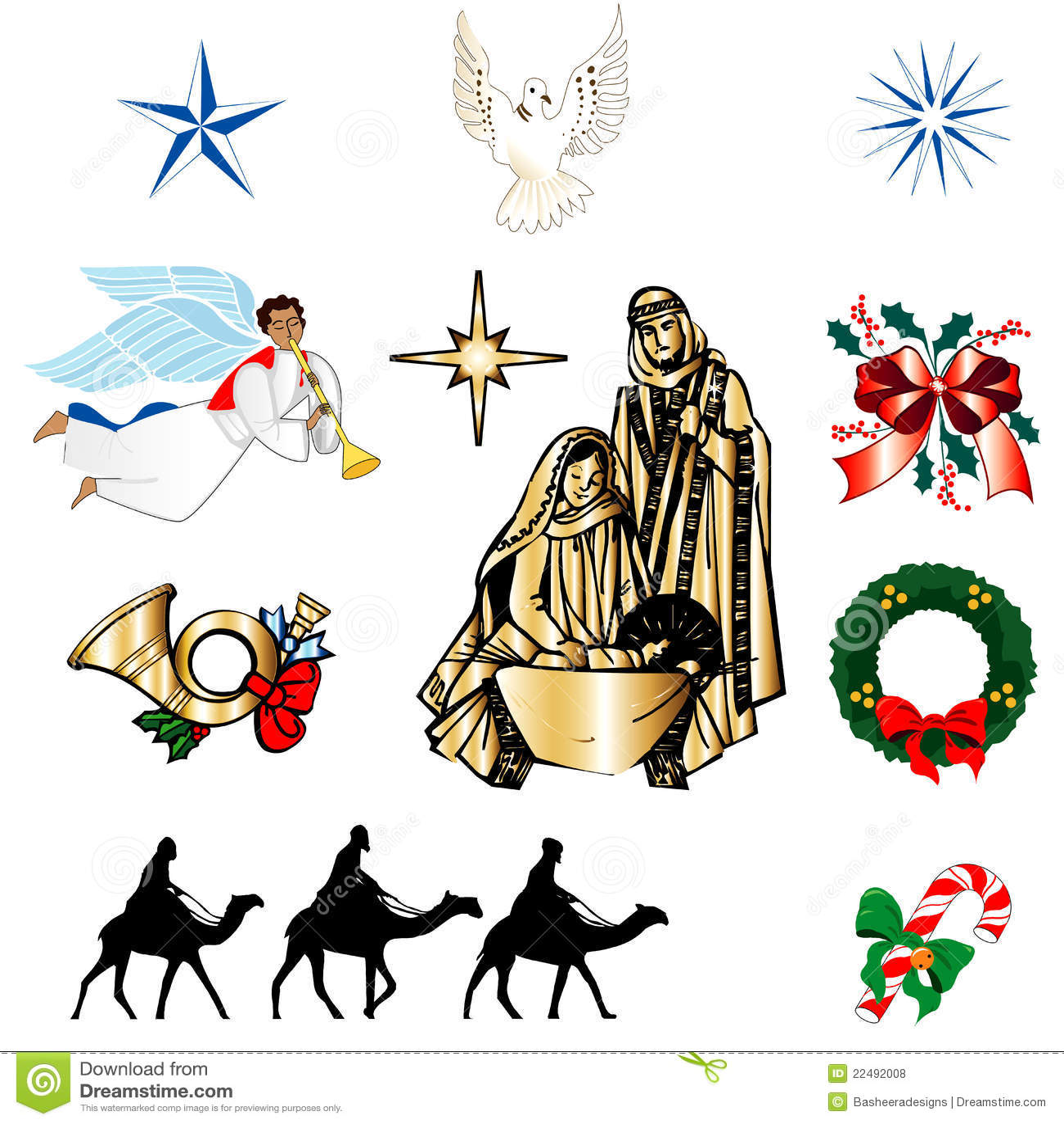 Christian Christmas Icons Royalty Free Stock Photos ... (1300 x 1390 Pixel)