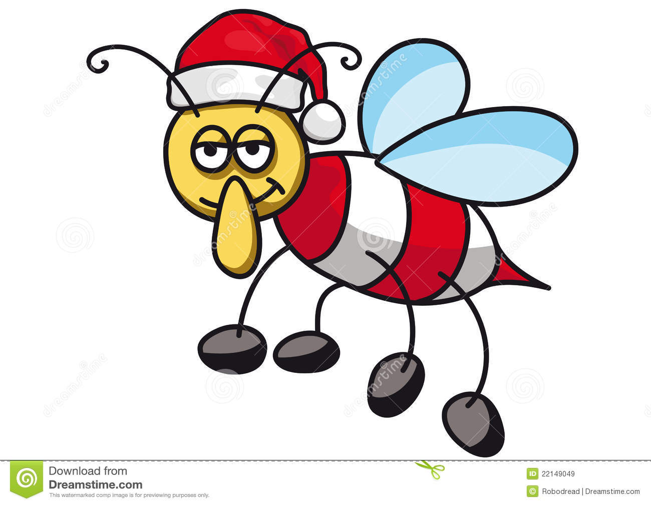 Christmas Bee Royalty Free Stock Images Image 22149049