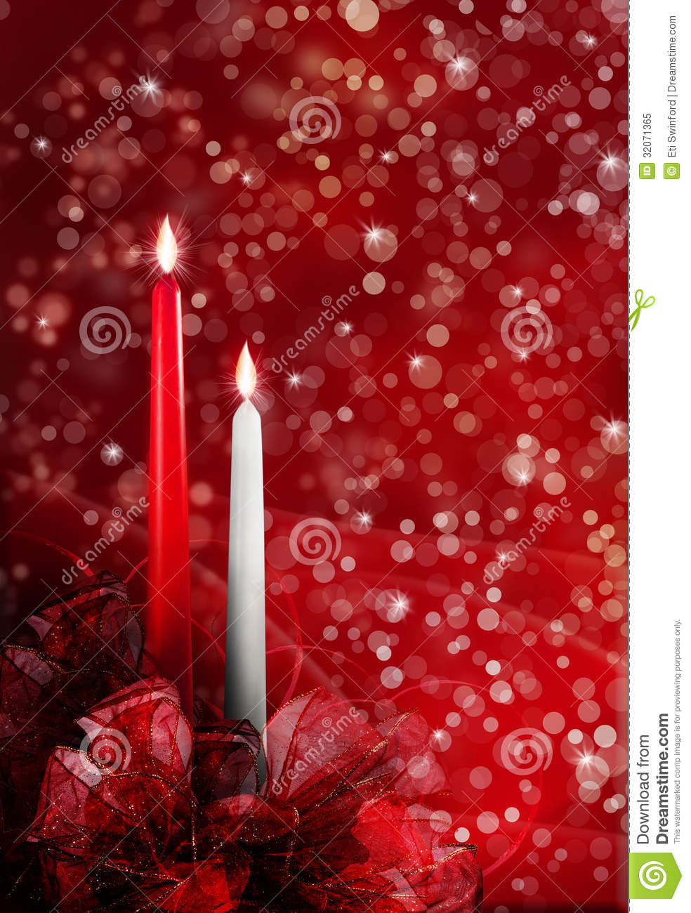 Christmas Candles Royalty Free Stock Photo Image 32071365
