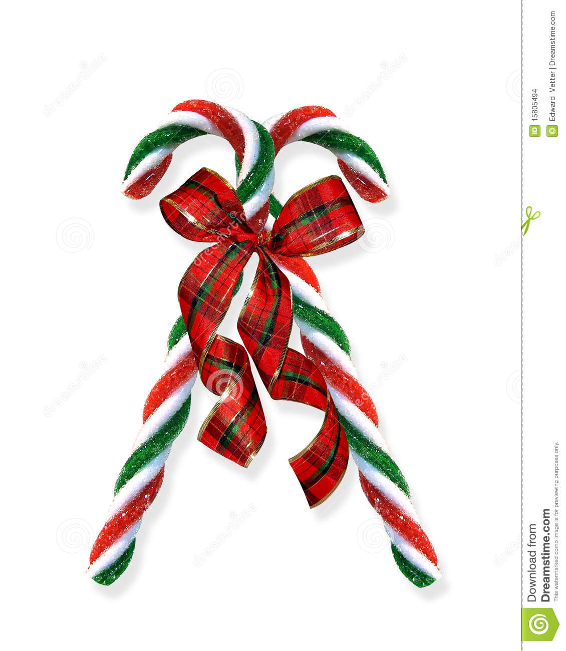 White Red Christmas Art And Candy Clip Green