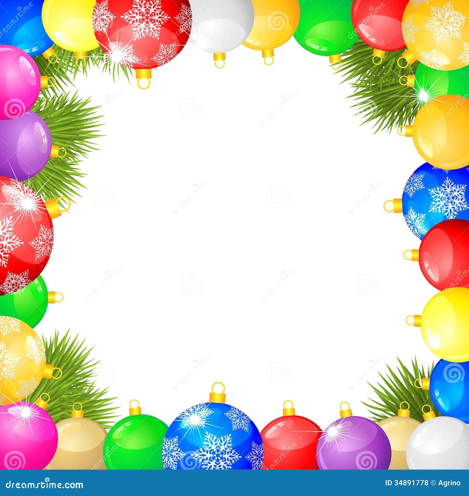 Christmas Congratulations Frame Stock Vector