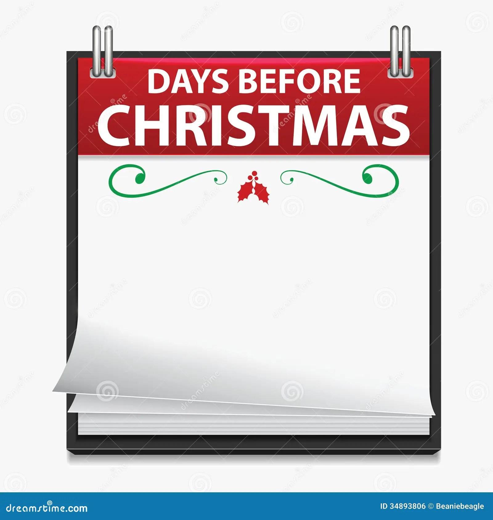 Countdown Till Christmas Art Activity Template