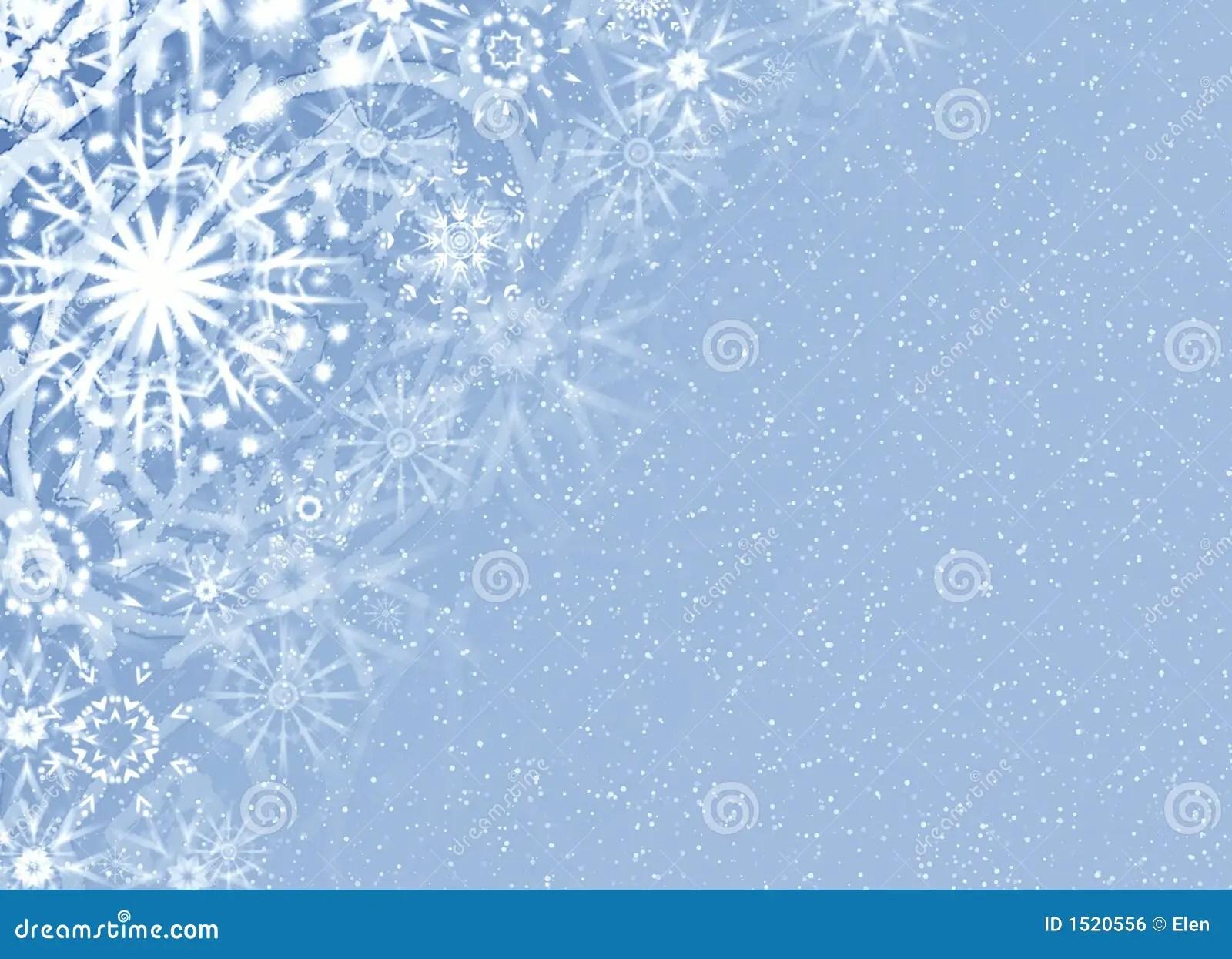 Christmas Fine Snow Card Royalty Free Stock Image Image