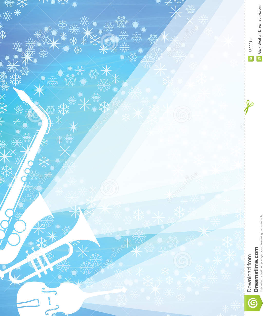 Christmas Jazz Concert Stock Illustration Image Of Design