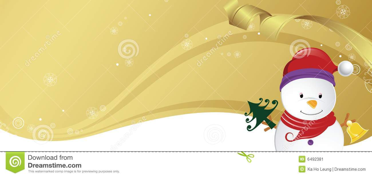 Christmas Party Invitation Card Stock Illustration Image