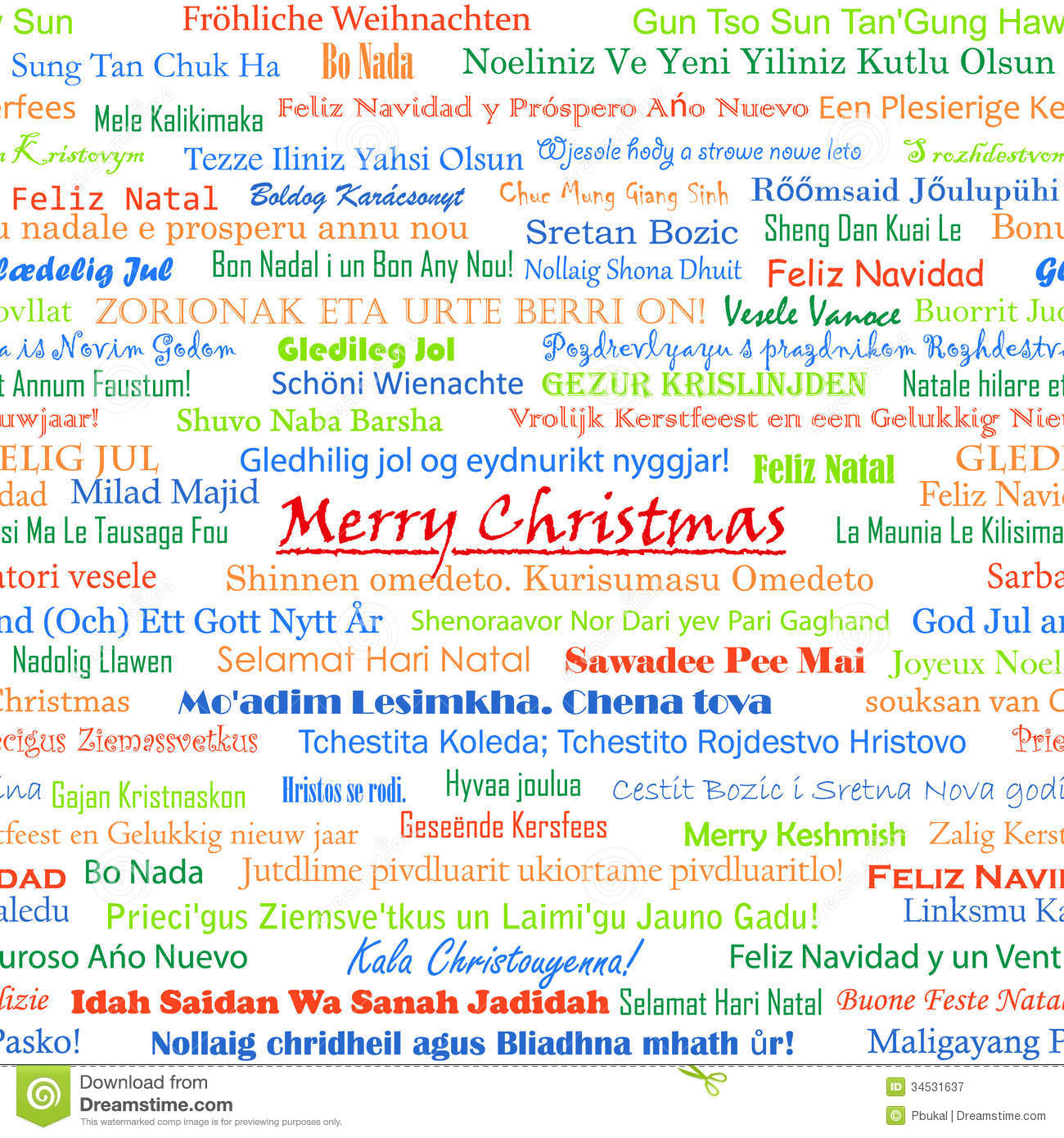 Languages All Wishes Happy Holiday