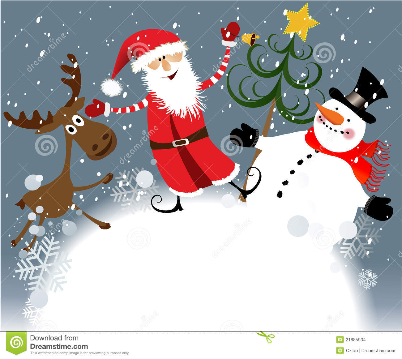 Christmas Team Stock Images Image 21885934