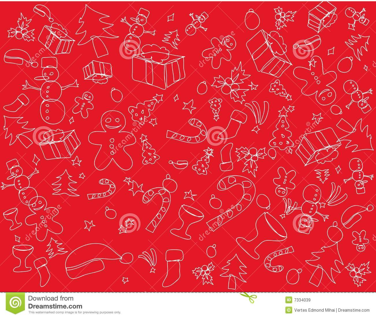 Christmas Themes Royalty Free Stock Images Image 7334039