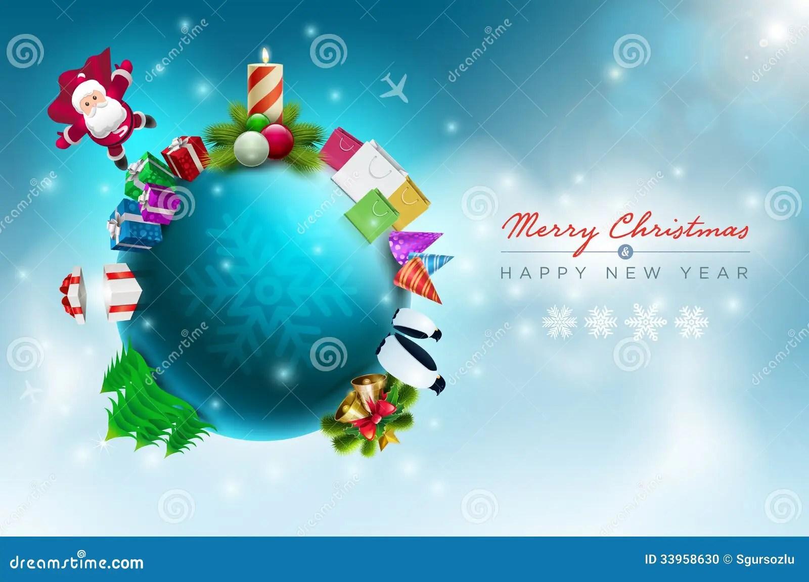 Christmas World Stock Photo Image 33958630