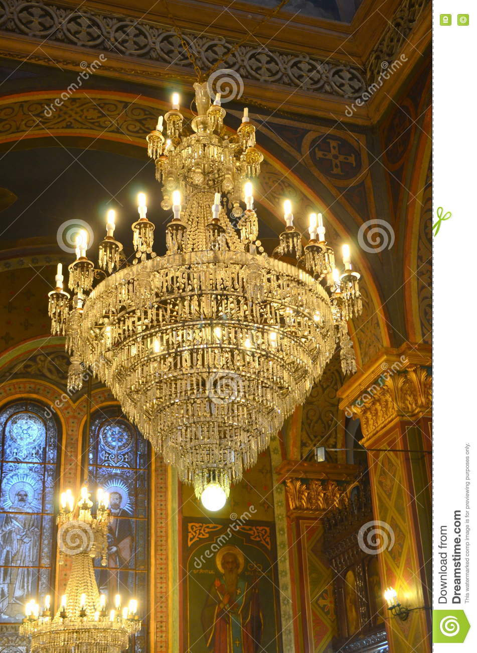 church chandelier stock photo image of crystal decoration 68705146