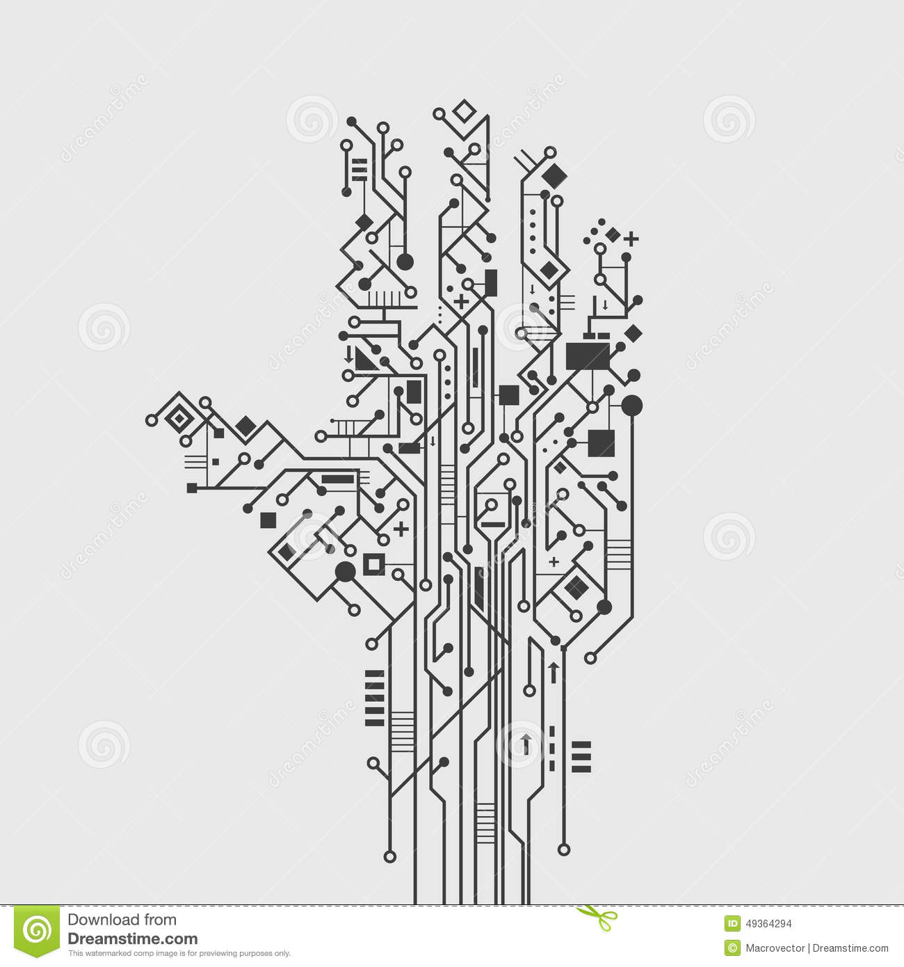 Electronic Schematic Wallpaper