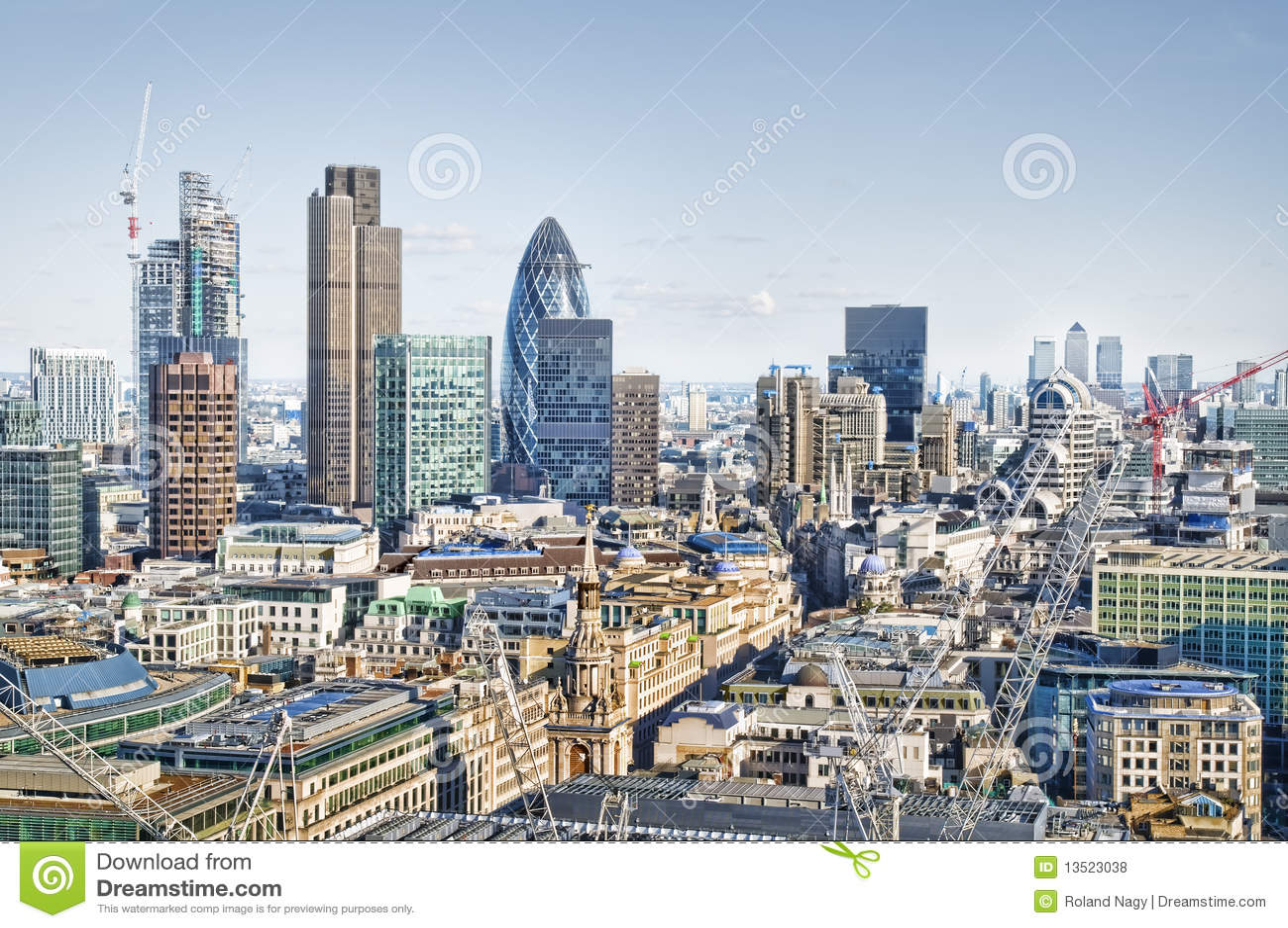 City Of London Royalty Free Stock Photos Image 13523038
