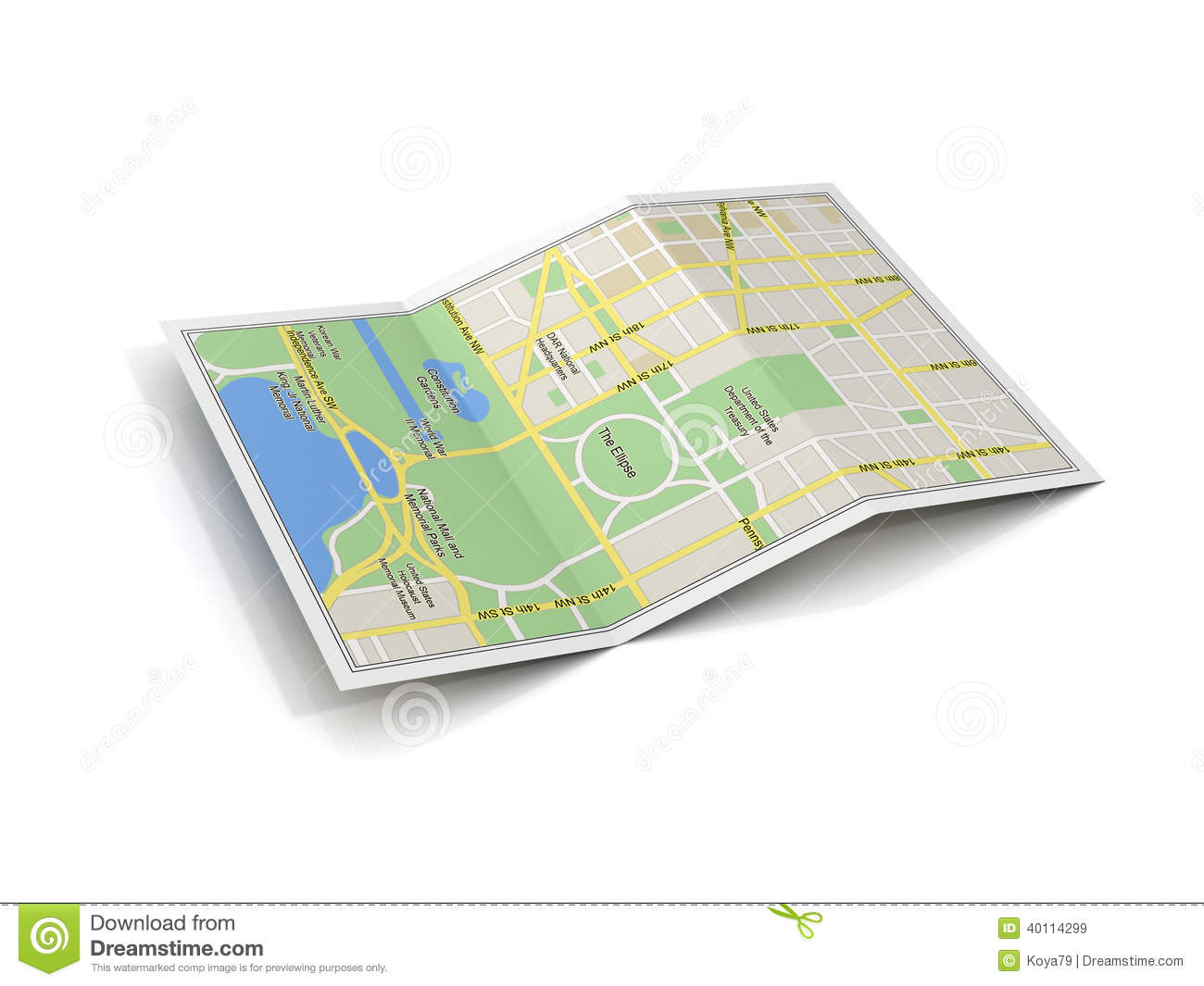 City map 3d illustration stock illustration  Illustration of holiday     Download City map 3d illustration stock illustration  Illustration of  holiday   40114299