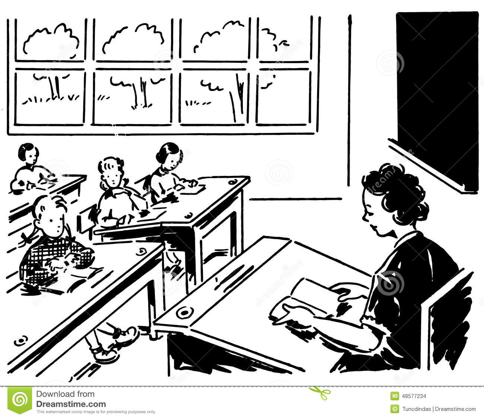 Classroom Clipart Free