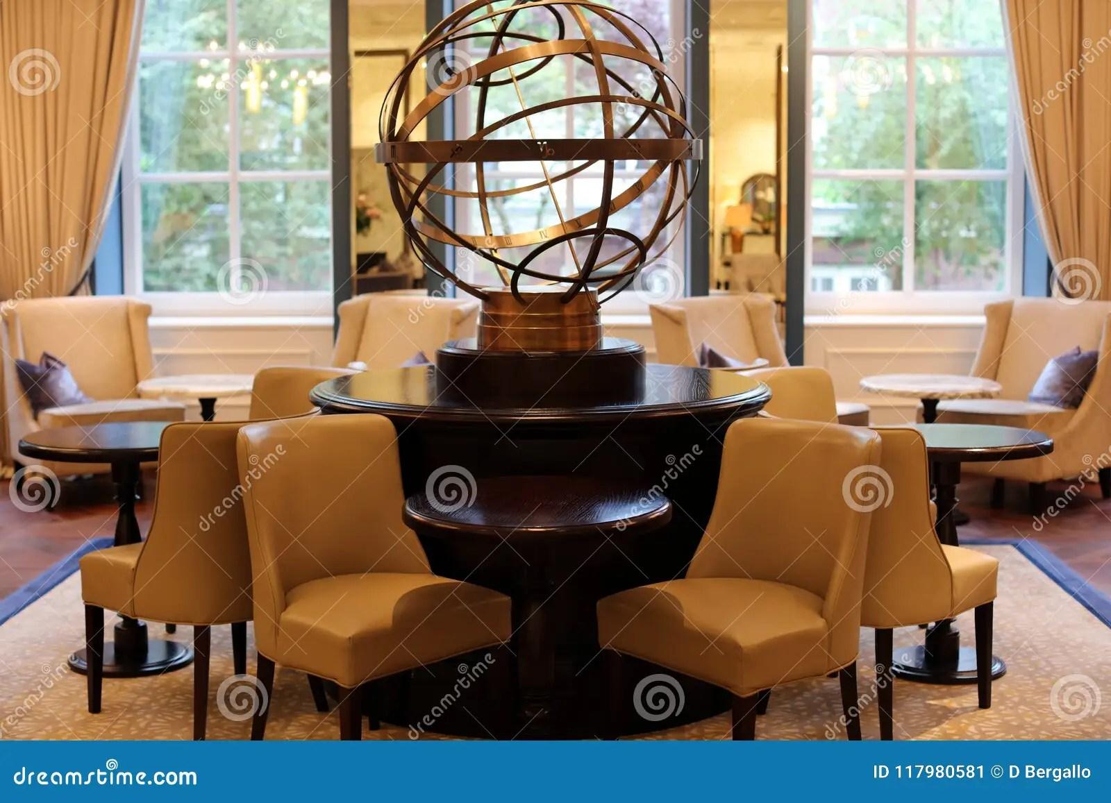 Classy Elegant And Modern Hotel Lobby At Amsterdam The