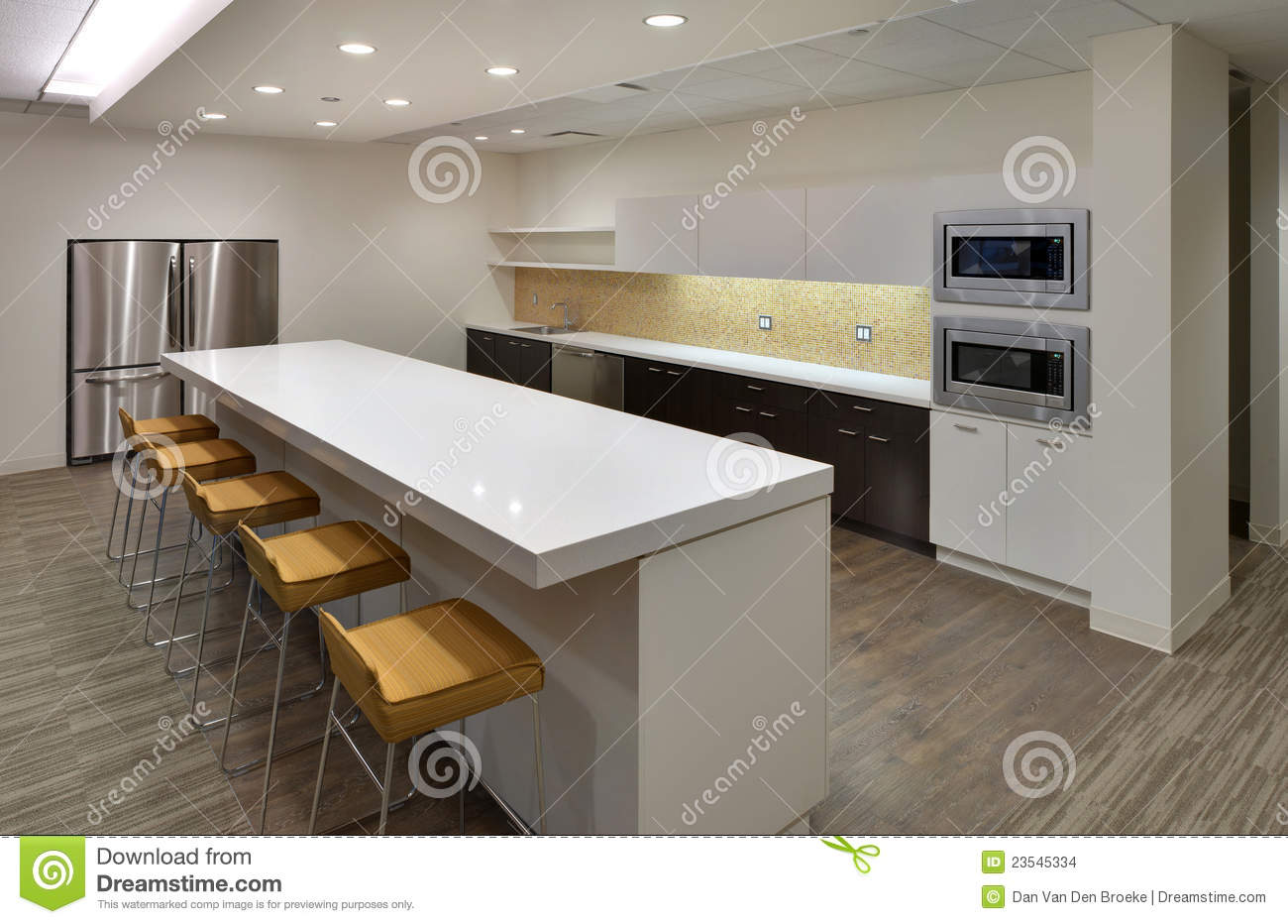 Clean Modern Community Lunch Room Stock Photo Image Of Dining Contemporary 23545334
