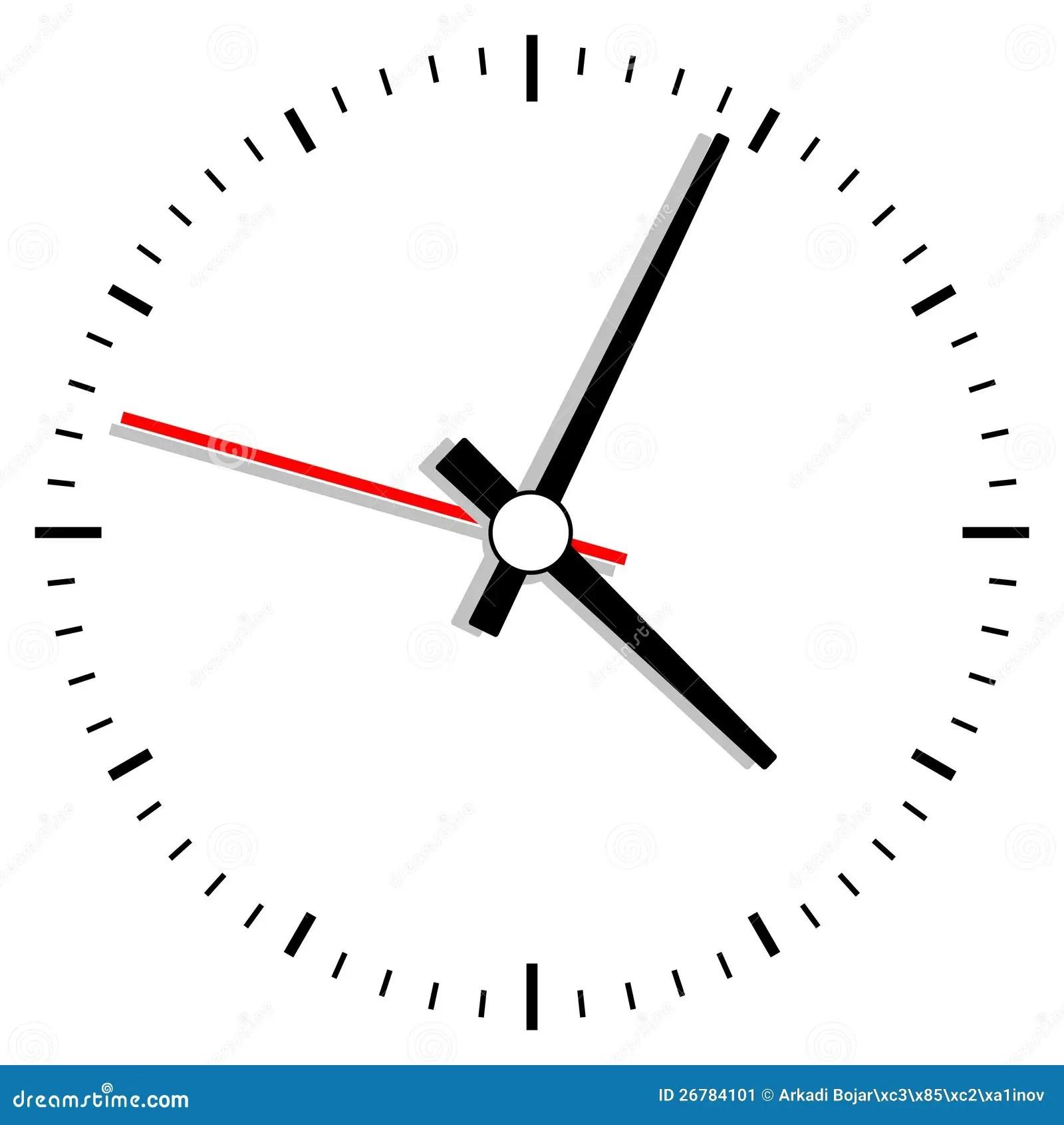 Clock Illustration Stock Image