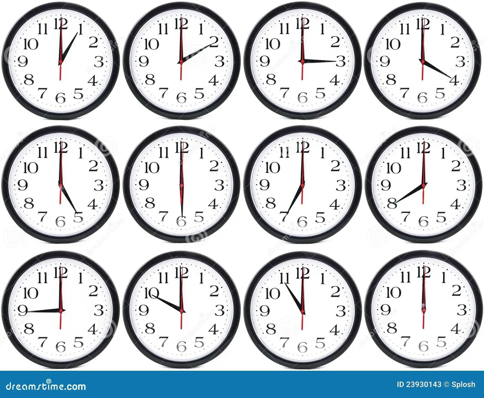 Clocks Stock Illustration Illustration Of Business