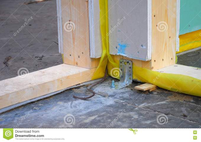 Attach Wood Frame To Concrete Floor Wikizie