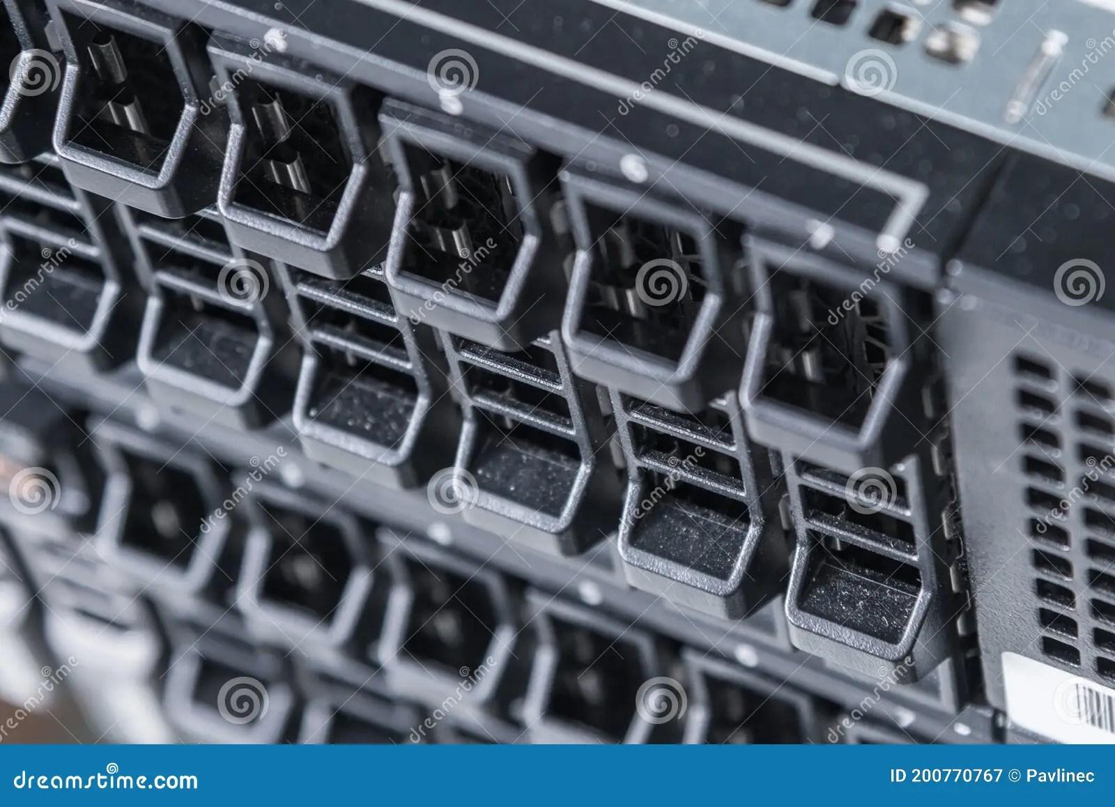 cluster of data storage ssd hard drives inside server rack stock image image of data modern 200770767