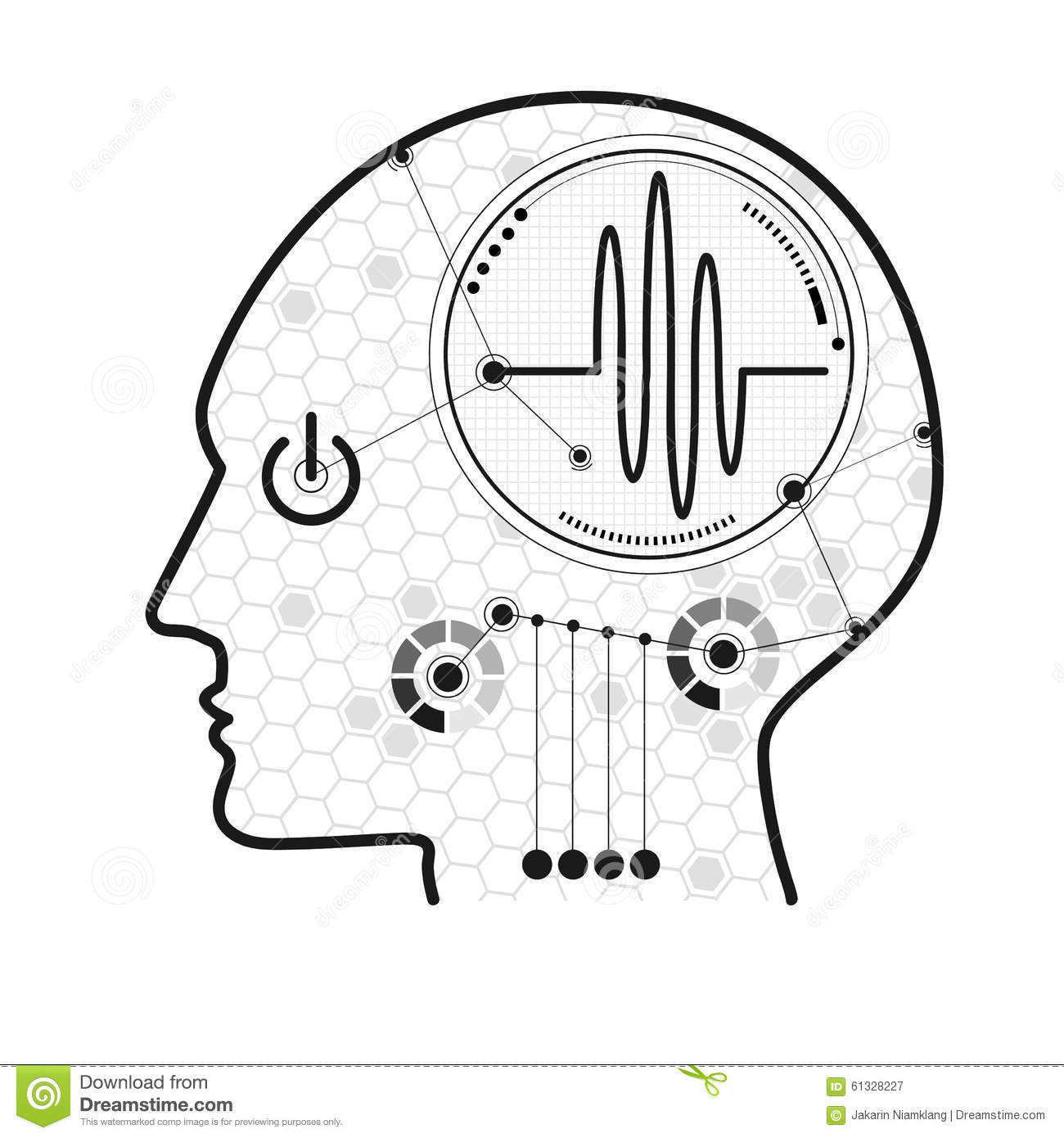 Cognitive Stock Vector