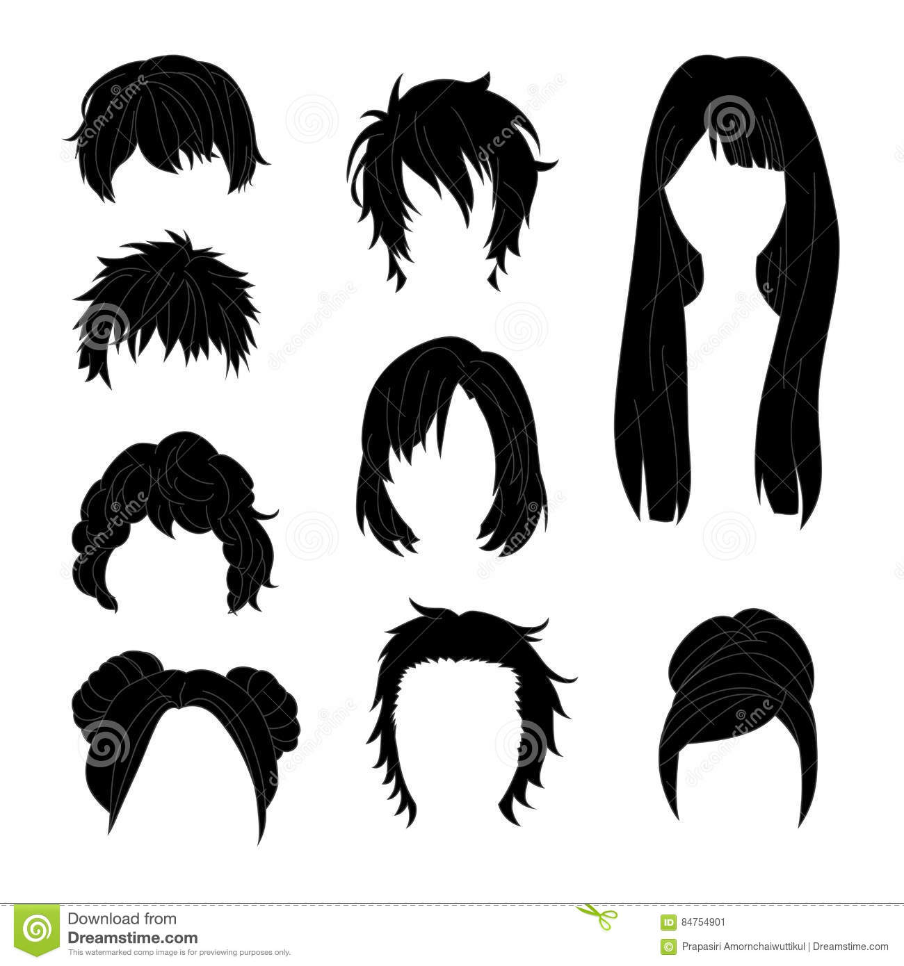 Haircut Cartoons Illustrations Amp Vector Stock Images