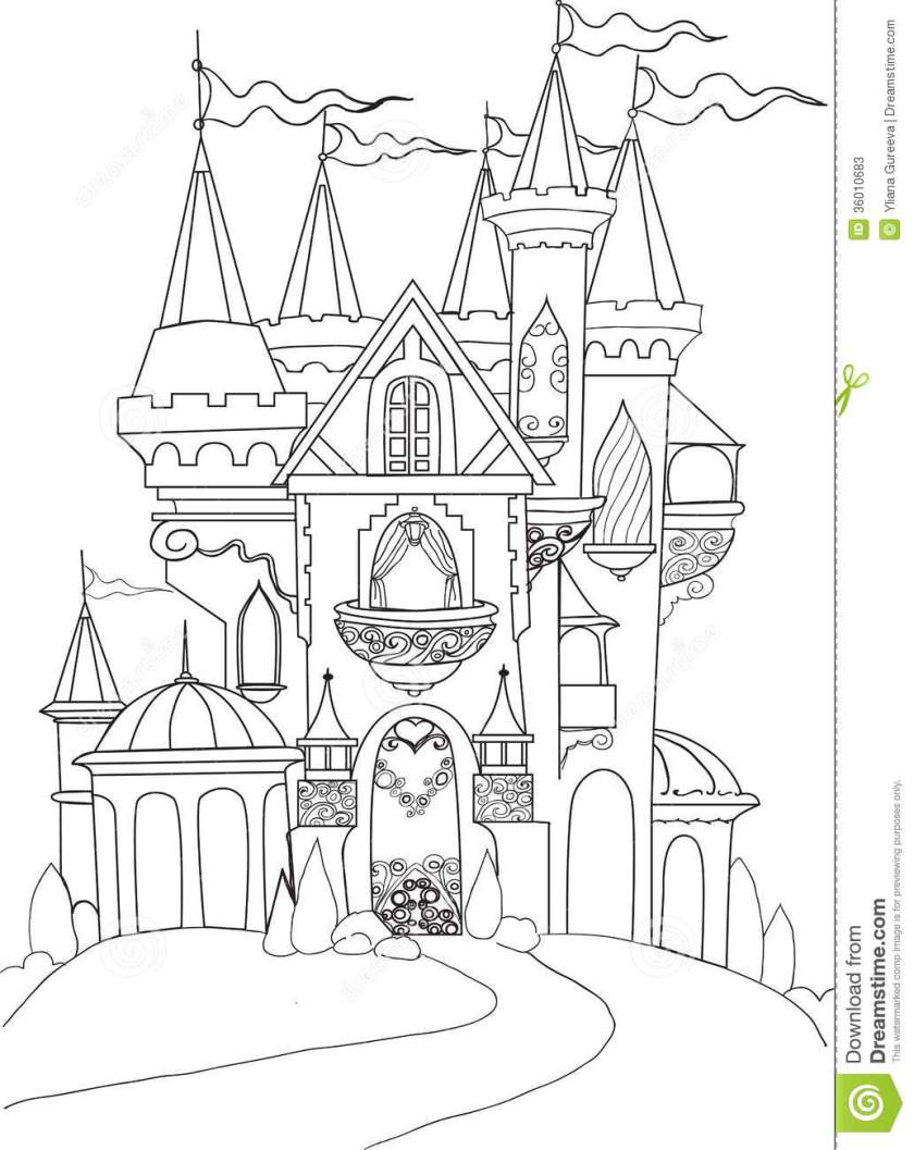 color book palace fairy tale stock photos  image 310683