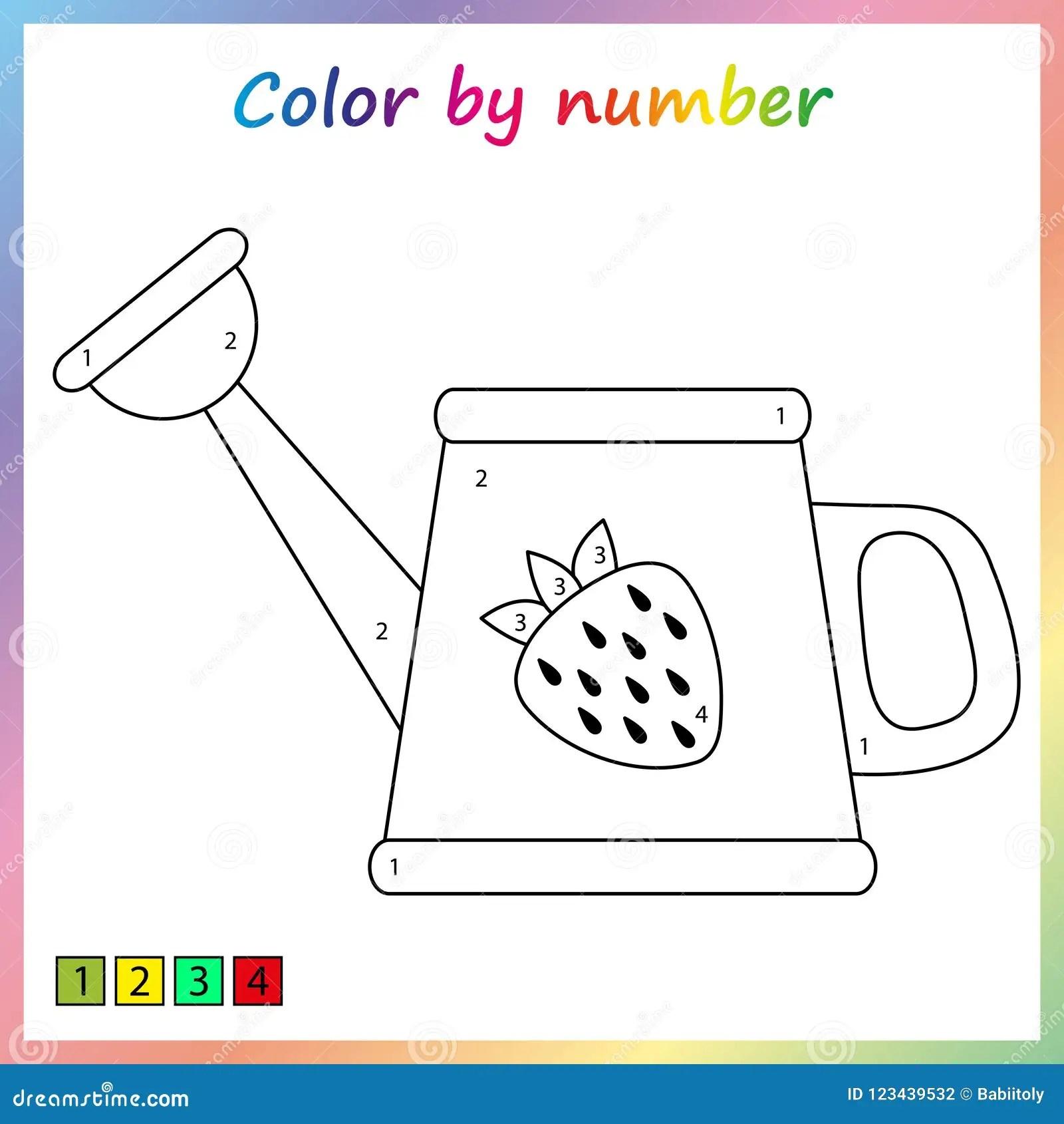Paint Worksheet Preschool